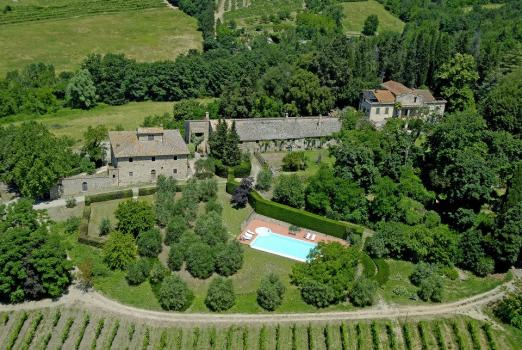 Villa Il Granaio with private swimming pool